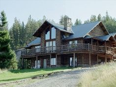 A True Montana Family Getaway and Fly Fishing Heaven. Montana River Lodge is a wonderfully inspiring and relaxing facility available to couples, families, w. Vacation Rentals, River Lodge, Family Getaways, Lodge Style, Lodges, Fly Fishing, Montana, Cabin, Log Cabin Homes