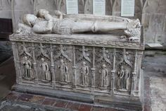 Elizabeth Fitzherbert, circa 1490s effigy at St Mary and St Barlok, Norbury, Derbyshire.  She is thought to have died earlier than her husband in 1483, and he was a firm supporter of Richard III