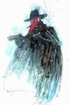 The Shadow •Bill Sienkiewicz