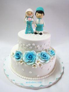 Mom & Daughter Cakes: Malay Wedding - Kek Kahwin Dan Kek Hantaran