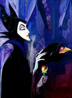 First favorite Villainess. When I was a little girl, I never wanted to be a Disney princess. I wanted to be Maleficent. The most beautiful cartoon woman! (Other then Jessica Rabbit of course.)