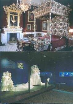 Diana's Wedding Dress and The Princess of Wales Bedroom Althorp