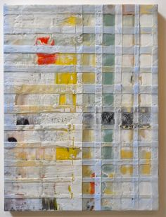 Patchwork #8. Dianna Wolley. Encaustic.