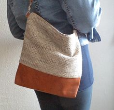 Shoulder bag / crossbody purse by reabags on Etsy, $52.00