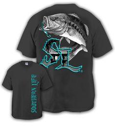 Bass  SOUTHERN LIFE tshirt