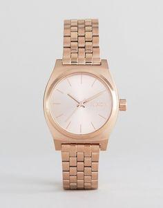 Nixon Rose Gold Medium Time Teller Watch