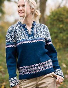 Ravelry: Norwegian Lusekofte Kit pattern by Kerin Dimeler-Laurence