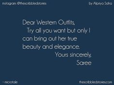Beautiful Captions For Instagram, Short Instagram Captions, Instagram Bio Quotes, Instagram Funny, Selfie Quotes, Funny Quotes, Qoutes, Traditional Dress Quotes, Caption For Saree