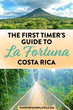 Planning your trip to La Fortuna / Arenal in Costa Rica? Then check out this list of the best things to do in La Fortuna for first time visitors!