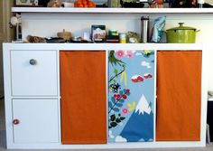 IKEA Hackers: Expedit kitchen storage hack