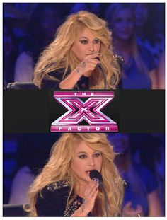The incredible Paulina Rubio rocking our classic Victorian Hand Chain on X-Factor