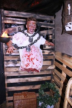 Haunted Garage Halloween Decorations Ideas                                                                                                                                                                                 More