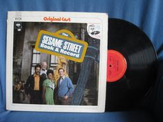 RARE Vintage The Sesame Street Vinyl LP Book and by sweetleafvinyl, $12.99