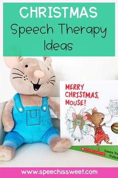 Looking for Christmas speech therapy activities and ideas? Check out these speech and language resources featuring Christmas themed books, speech therapy lesson plans, speech and language freebies, and more! | Speech is Sweet Speech Language Therapy, Speech Therapy Activities, Language Activities, Speech And Language, Christmas Speech Therapy, Christmas Themes, Merry Christmas, Speech Room, Any Book