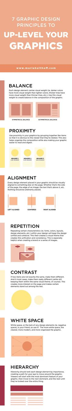 7 Graphic Design Principles to Up-Level your Graphics — Mariah Althoff, Visual Branding Expert + Graphic Designer - If you're learning graphic design and want to up-level your graphic design aesthetic right from t - Graphisches Design, Web Design Tips, Graphic Design Tutorials, Tool Design, Graphic Design Inspiration, Layout Design, Design Elements, Aesthetic Design, Graphic Projects