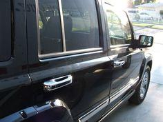 Jeep Commander Chrome Door Handles