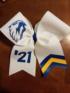 4750a4b7fd0be Custom Cheer Bow  Dance Bow   Softball Bow with half Glitter ChevronTail.  by AminaCrafts
