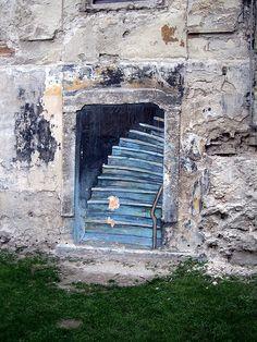 Stairway to nowhere - Bratislava