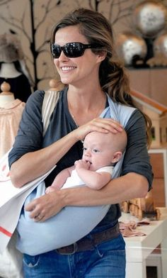 Keri Russell Mommy Style