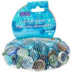 Crafters Square Mixed-Color Glass Accent Gems, 14-oz. Bags