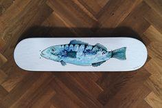 himynameisphilip is offline Crab Art, Fish Art, Skate Decks, Turquoise Bracelet, Skateboard, Original Paintings, The Originals, Image, Jewelry
