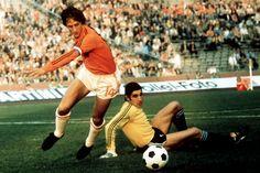 Cruyff llevó a Holanda hasta la final del Mundial de 1974.