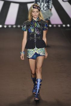 Anna Sui at New York Spring 2010