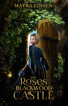 The Roses of Blackwood Castle Cover by Abbysidian Fantasy Books To Read, Fantasy Movies, Book Cover Art, Book Cover Design, Film Books, Fiction Books, Period Drama Movies, Cover Wattpad, Movie Hacks