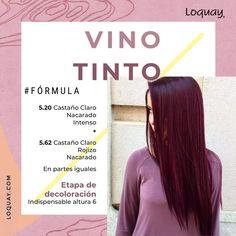Wine Hair, Hair Color Techniques, Hair Blog, Ombre Hair, Hair Looks, Dyed Hair, Cool Hairstyles, Hair Care, Hair Beauty