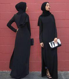 Black on Black // Dark and Bold | feeeeya