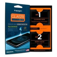 Buy Spigen Screen Protectors in Cyprus Introducing the new Glas.tR Nano Liquid, a Silicon Dioxide is made to optimize screen protection without losing the All Smartphones, Best Iphone, Iphone 11, Packaging Design Inspiration, Glass Screen Protector, Smartwatch, Samsung Cases, Cleaning Wipes, Cool Things To Buy