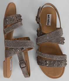 bbe18732e19 Not Rated Kinney Sandal - Women s Shoes in Pewter