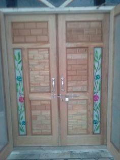 Door Design Gallery 20 | LSWORLD Wooden Door Design, Wooden Doors, Bed Design, Mirror, Gallery, Frame, Furniture, Home Decor, Picture Frame