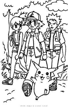 Pokemon Coloring Page 09 Pages