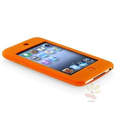 Everydaysource For Apple iPod Gen2/3 Touch Skin Case , Orange