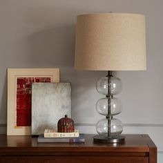 Abacus Table Lamp - Clear | west elm UK