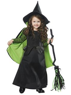 Swanky Wicked Witch of Oz Toddler Costume. Special Range of Wicked Witch Of The East Costumes for Halloween at PartyBell. Toddler Witch Costumes, The Wizard Of Oz Costumes, Wicked Witch Costume, Wizard Costume, Baby Costumes, Costume Dress, Devil Costume, Ghost Costumes, Wholesale Halloween Costumes
