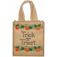 Sew-in-the-hoop Trick-or-Treat Bag by goldenneedledesigns on Etsy
