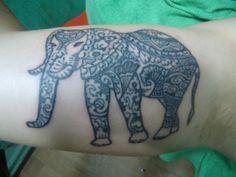 Elephant Henna Tattoo Ideas On Muscles - http://tattoosaddict.com/elephant-henna-tattoo-ideas-on-muscles-2.html #Elephant, #Henna, #HennaTattoo, #Ideas, #Muscles, #On, #Tattoo