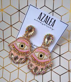 Handmade Jewelry Bracelets, Tassel Jewelry, Bijoux Diy, Earrings Handmade, Beaded Jewelry, Jewellery, Bead Embroidery Jewelry, Textile Jewelry, Beaded Embroidery