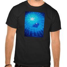 Saphir mit Diamantschliff Hemden