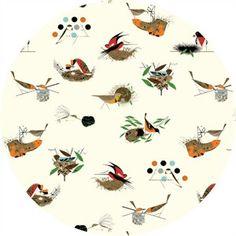 COMING SOON, Charley Harper for Birch Organic Fabrics, Bird Architects, Architects Main