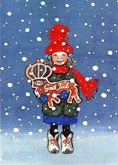 """God jul"" = Merry Christmas in Swedish"