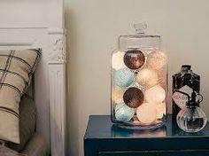 Image result for cotton balls lights ideas
