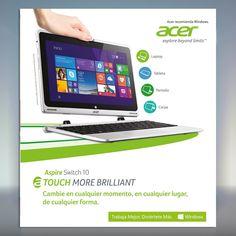 Acer brinda soluciones acertadas en la era de la movilidad