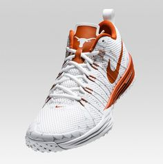 """For the dad who is a longhorn fan Nike Lunar """"Texas Longhorns"""" Ut Football, Texas Longhorns Football, Ut Longhorns, College Football, Girls Sneakers, Air Max Sneakers, Sneakers Nike, Nike Lunar, Nike Snkrs"""