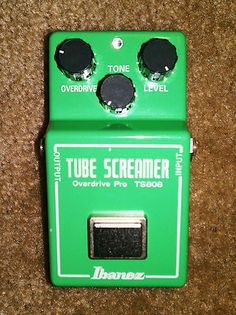 Ibanez TS808 Overdrive Guitar Effect Pedal