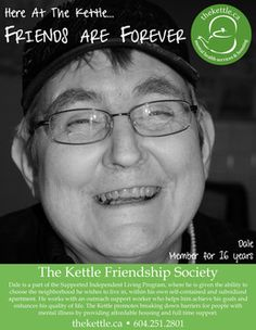 """Print advertisement for the Kettle Friendship Society - a mock communications campaign titled """"Friends are Forever"""""""