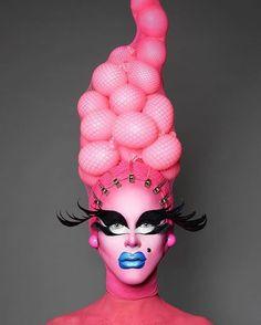 Aquaria-Stil Kostüm Idee zu Karneval, Halloween & Fasching - #costumes #kostüme #karneval #verkleidung #carnival #partycostume #makeup #schminken