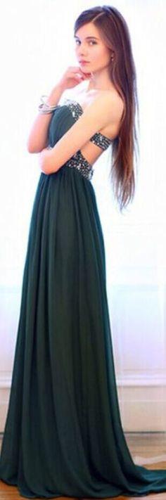 Charming Prom Dress Strapless Prom
